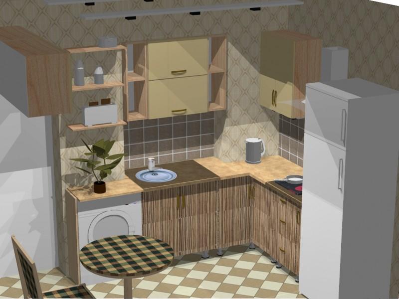 Макет кухни своими руками картинки